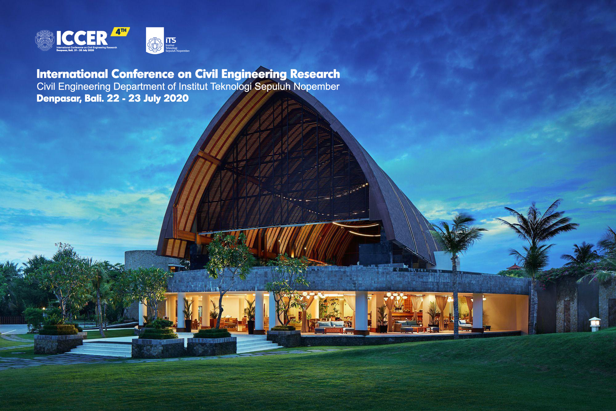 The 4TH International Conference on Civil Engineering Research (ICCER)