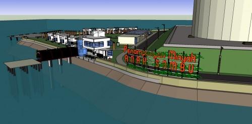 Penyusunan FS/Masterplan, RTBL, AMDAL dan DED Anak Sambu Storage Terminal (2009)