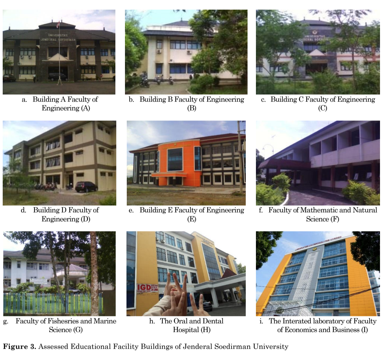 Seismic Vulnerability Assessment Using Rapid Visual Screening: Case Study of Educational Facility Buildings of Jenderal Soedirman  University, Indonesia