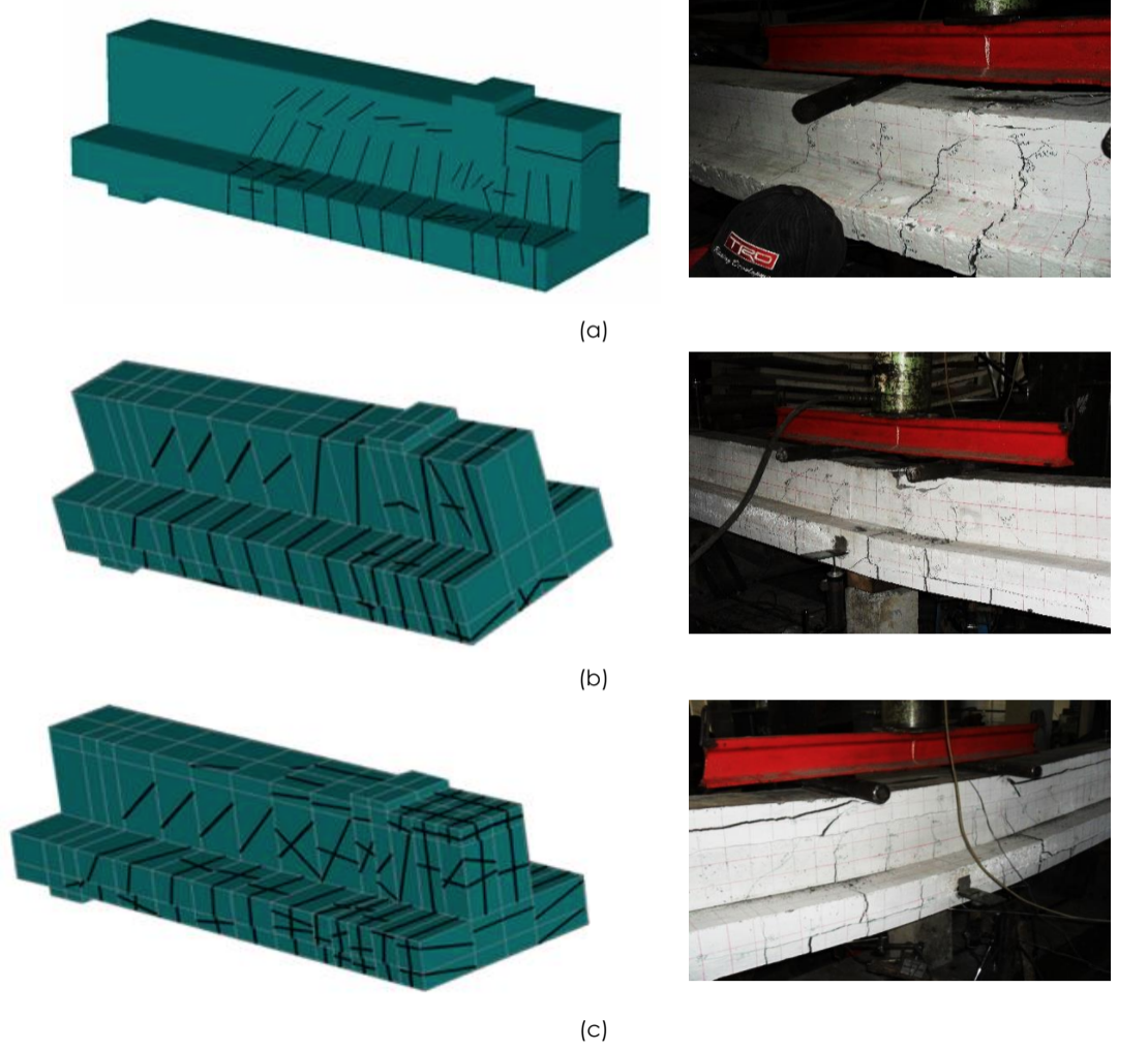 FINITE ELEMENT ANALYSIS OF T-SECTION RC BEAMS STRENGTHENED BY WIRE ROPE IN THE NEGATIVE MOMENT REGION WITH AN ADDITION OF STEEL REBAR AT THE COMPRESSION BLOCK